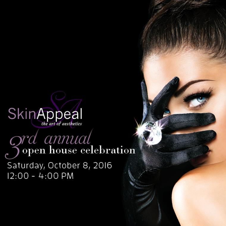 SKIN APPEALS 3RD ANNUAL OPEN HOUSE EVENT