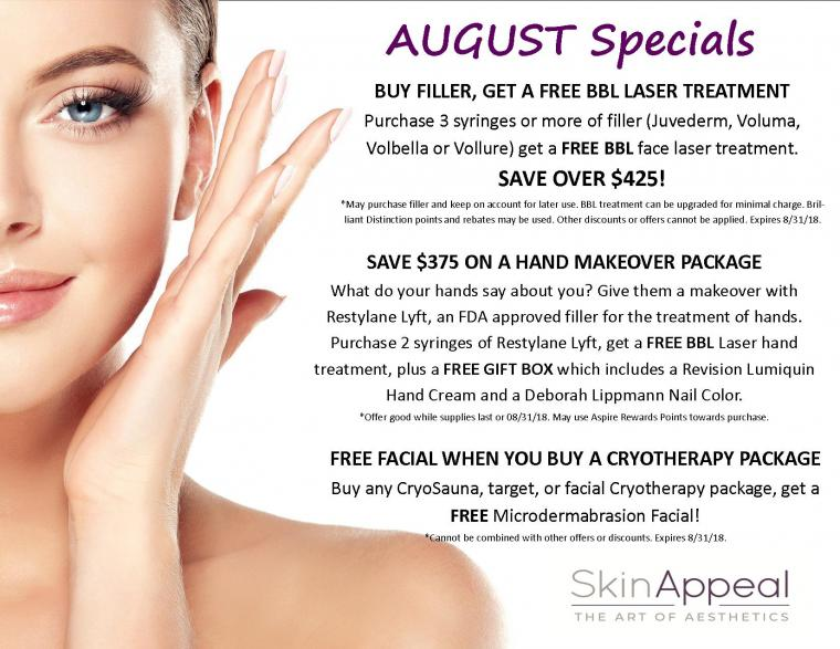 FREE BBL Laser Treatments, Gift Box & Facials - Endless Summer Savings