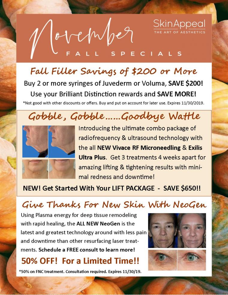 NeoGen, Lift Package w/ Vivace & Exilis, FREE Filler & More